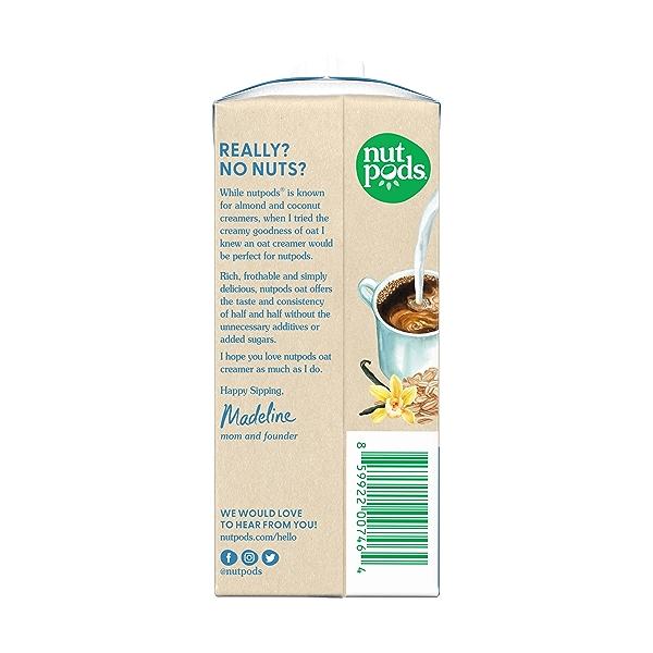 Oat French Vanilla, 11.2 fl oz 2