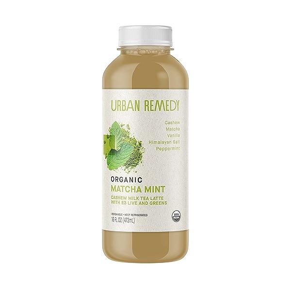 Organic Matcha Mint Tea Latte, 16 fl oz 1