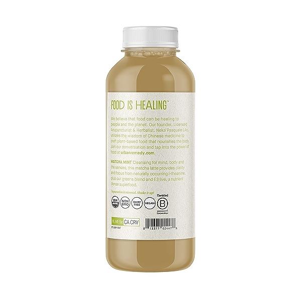 Organic Matcha Mint Tea Latte, 16 fl oz 3