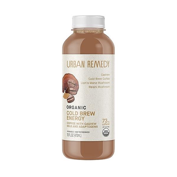 Organic Cold Brew Energy Coffee, 16 fl oz 1