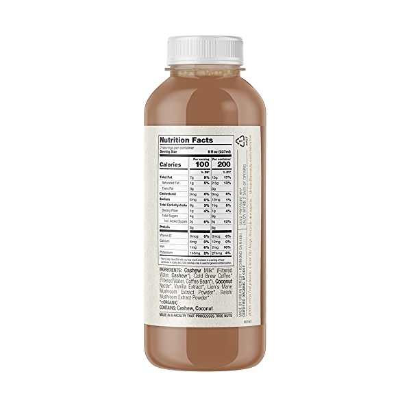 Organic Cold Brew Energy Coffee, 16 fl oz 2
