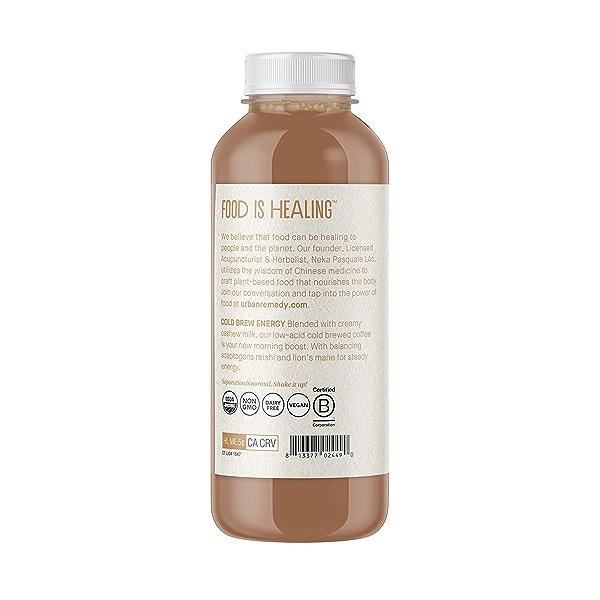 Organic Cold Brew Energy Coffee, 16 fl oz 3
