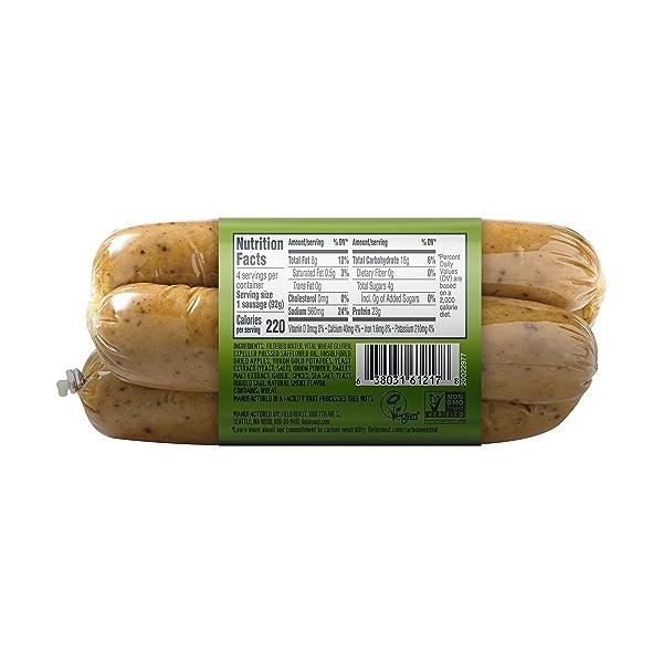 Smoked Apple & Sage Plant-Based Sausages 2