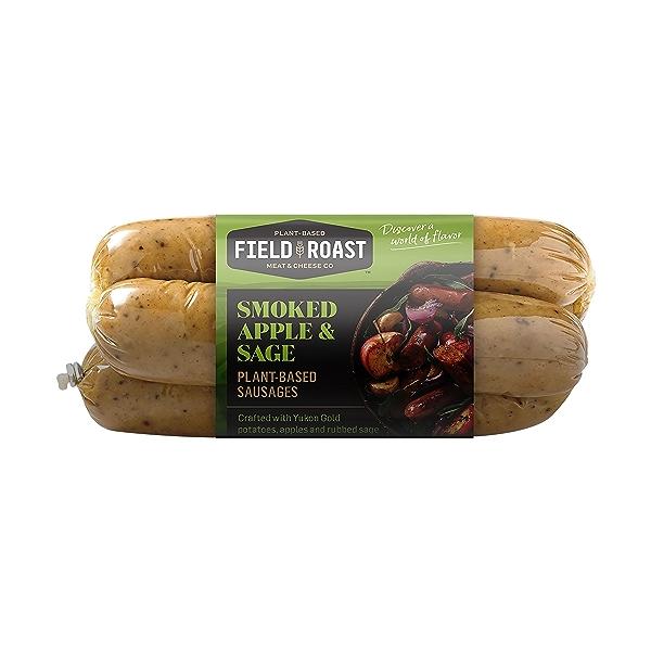 Smoked Apple & Sage Plant-Based Sausages 1