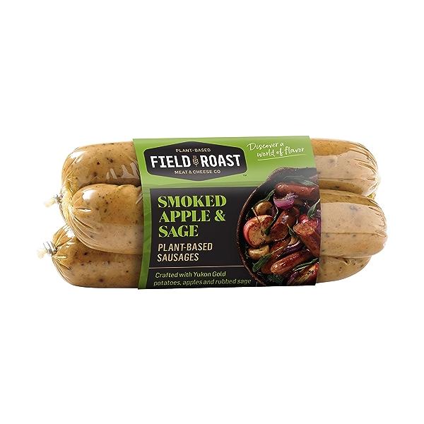 Smoked Apple & Sage Plant-Based Sausages 3