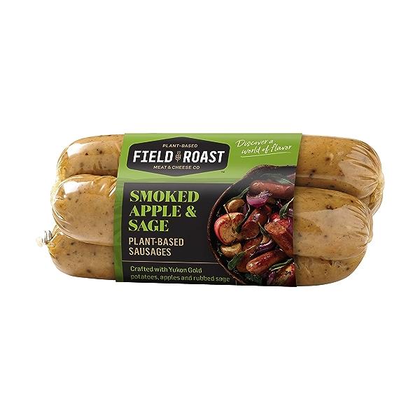 Smoked Apple & Sage Plant-Based Sausages 4