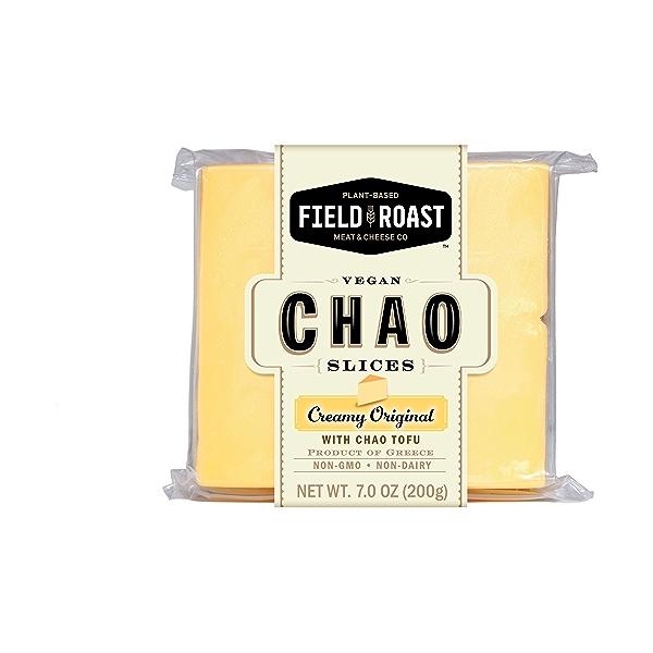 Chao Creamery Vegan Slices, Creamy Original, 7 oz 1