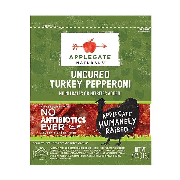 Uncured Turkey Pepperoni 1