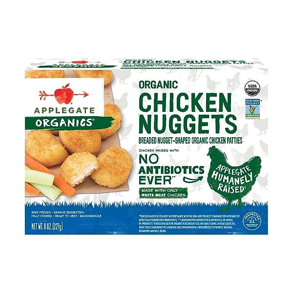 Organic Chicken Nuggets, 8 oz 1