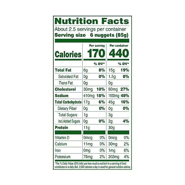 Organic Chicken Nuggets, 8 oz 3