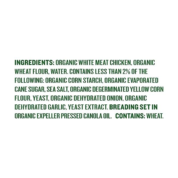 Organic Chicken Nuggets, 8 oz 4