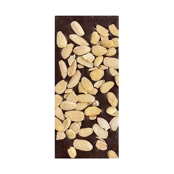 Almond Sea Salt Chocolate Bar, 2.5 oz 3