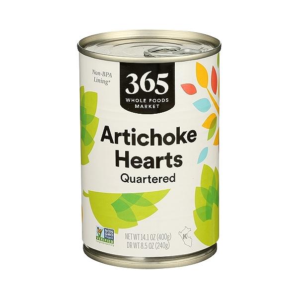Shelf-Stable Artichoke Hearts, 14.1 oz 1