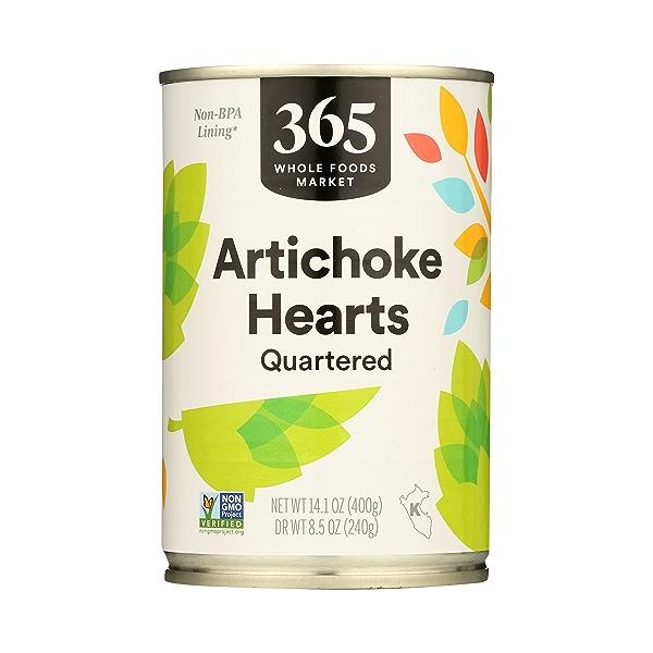 Shelf-Stable Artichoke Hearts, 14.1 oz 2