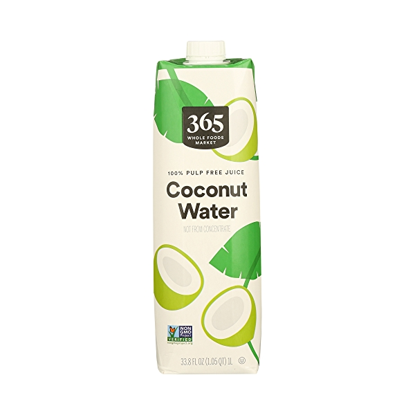 Shelf-Stable Coconut Water 100% Pulp Free Fuice (Not From Concentrate), 33.8 fl oz 2