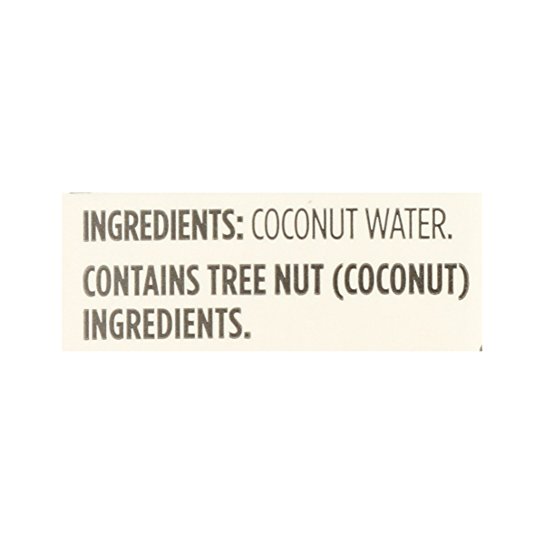 Shelf-Stable Coconut Water 100% Pulp Free Fuice (Not From Concentrate), 33.8 fl oz 7