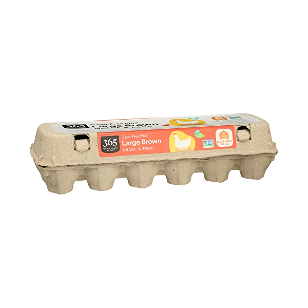 Grade A Eggs Cage-Free Plus Large Brown (12 Count), 24 oz 2