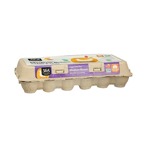 Grade A Eggs Cage-Free Plus Medium Brown (18 Count), 31.5 oz 1