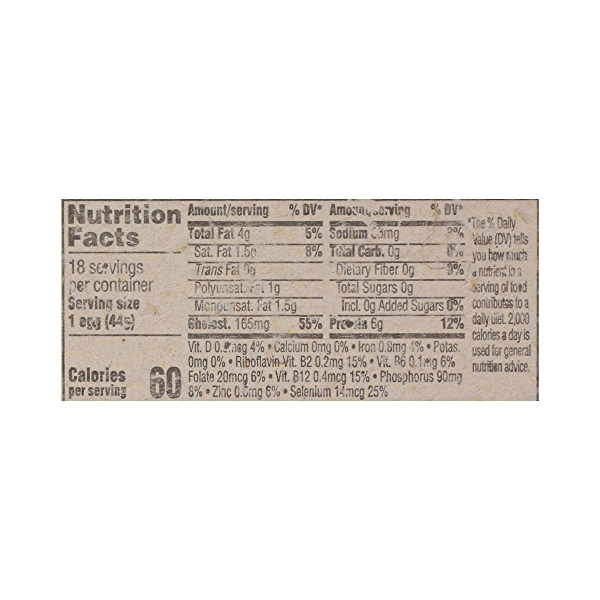 Grade A Eggs Cage-Free Plus Medium Brown (18 Count), 31.5 oz 7
