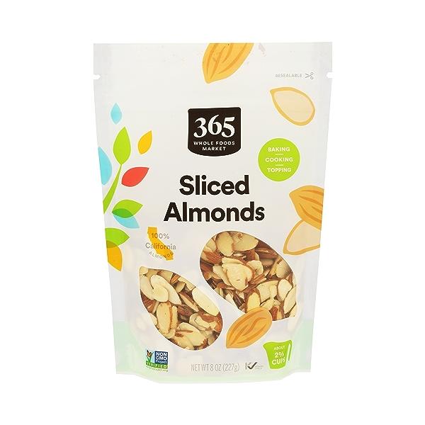Almonds Sliced, 8 oz 1
