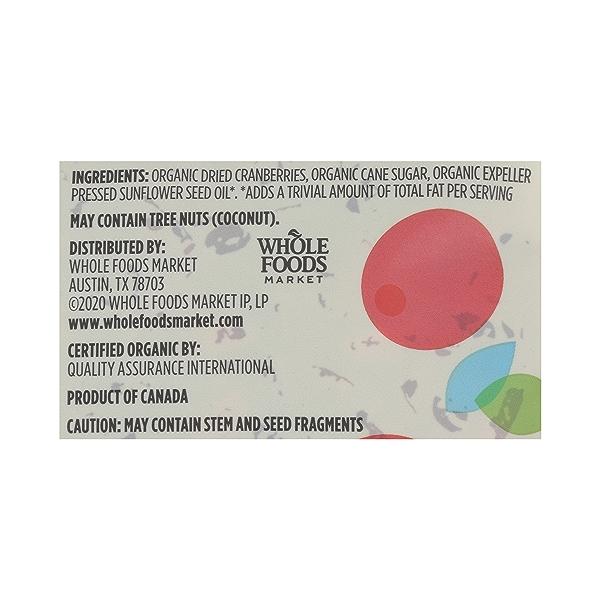 Organic Dried Fruit Cranberries - Sweetened, 8 oz 9