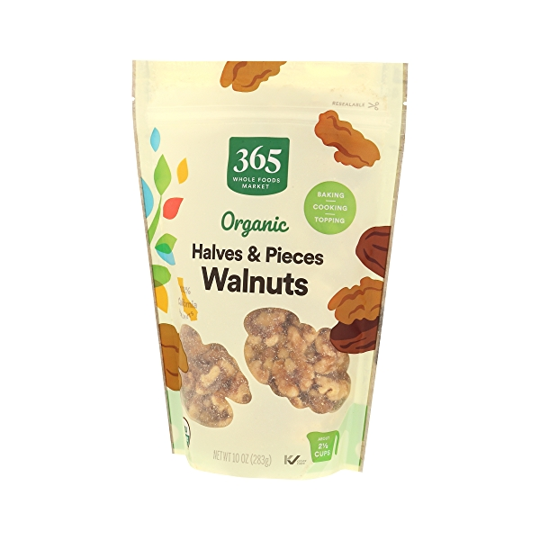 Organic Packaged Walnuts  Havles & Pieces, 10 oz 2