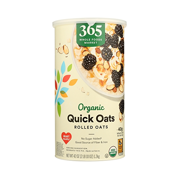 Organic Hot Cereal Quick Oats Rolled Oats, 42 oz 3