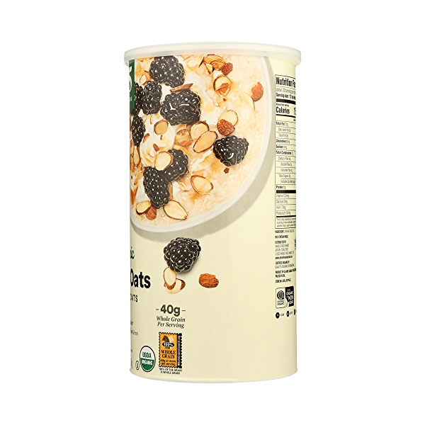 Organic Hot Cereal Quick Oats Rolled Oats, 42 oz 7
