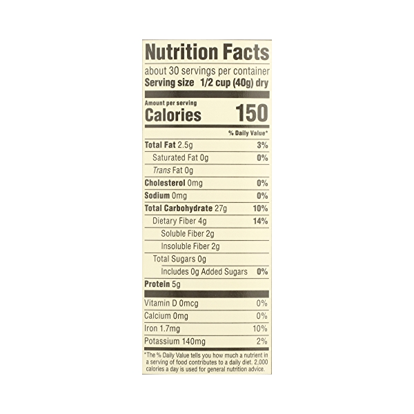 Organic Hot Cereal Quick Oats Rolled Oats, 42 oz 8