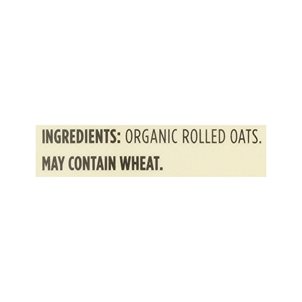 Organic Hot Cereal Quick Oats Rolled Oats, 42 oz 9