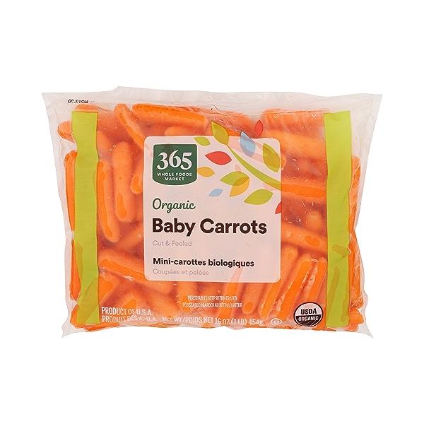 Organic Baby Carrots - Cut & Peeled 1