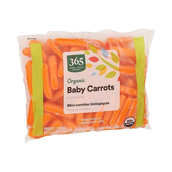 Organic Baby Carrots - Cut & Peeled 2