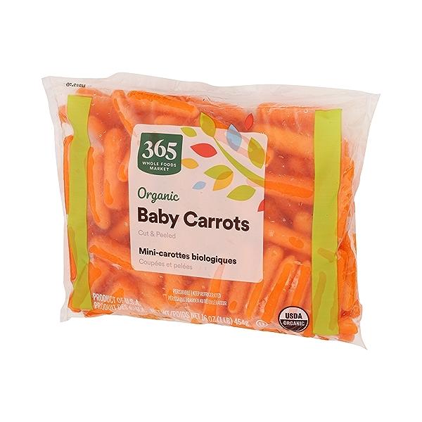 Organic Baby Carrots - Cut & Peeled 3