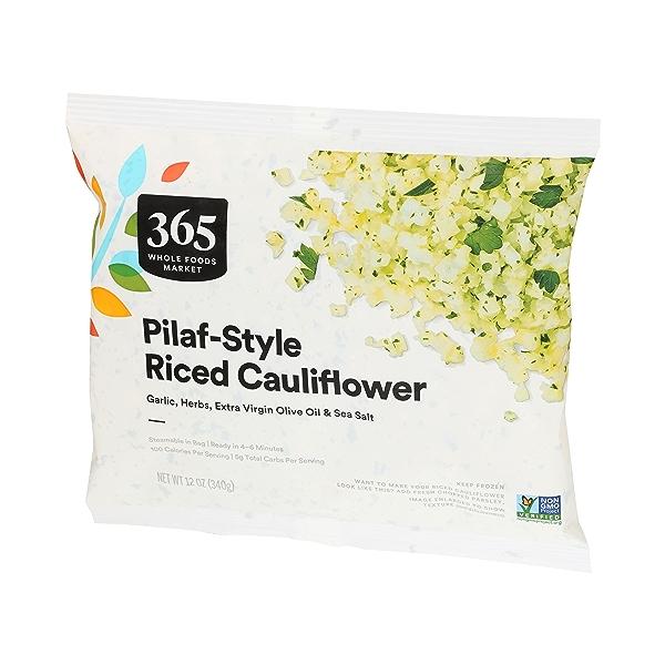 Frozen Riced Cauliflower - Pilaf Style 3
