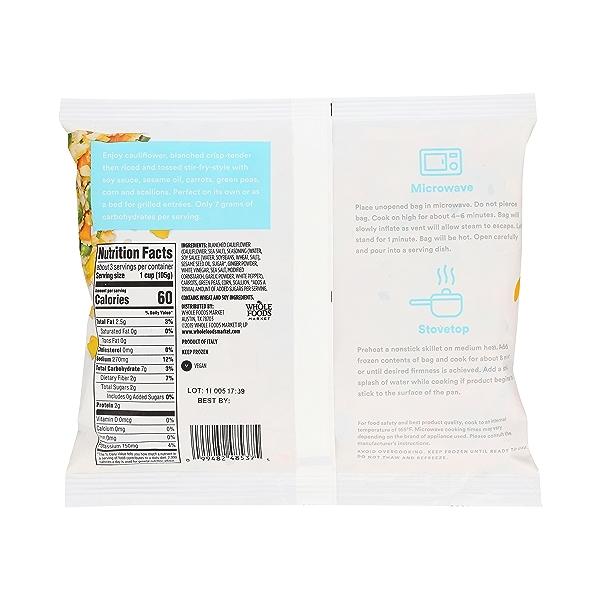 Frozen Riced Cauliflower - Stir Fry Style 3