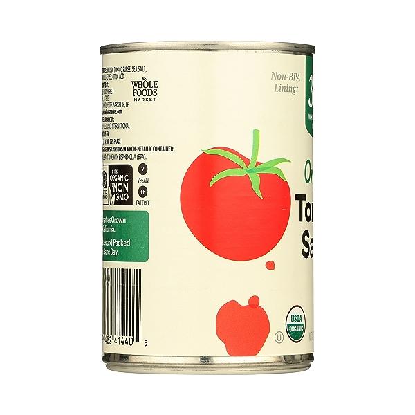 Organic Tomato Sauce, 15 oz 4