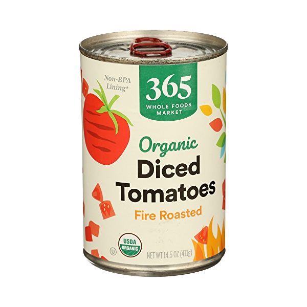 Organic Shelf-Stable Tomatoes Diced - Fire Roasted, 14.5 oz 2