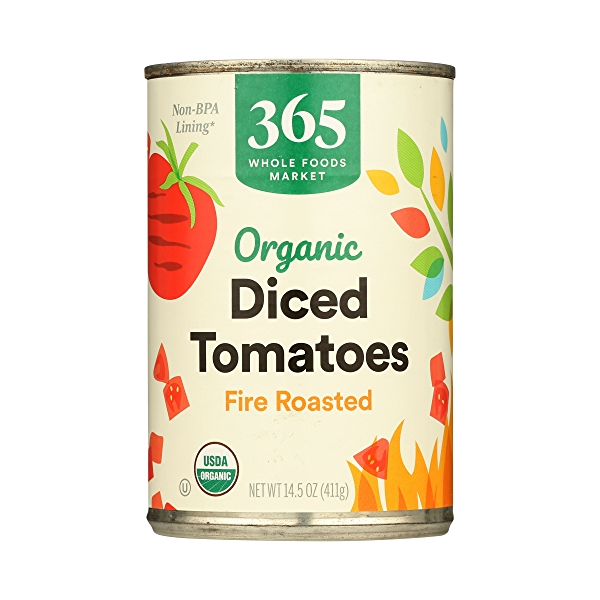 Organic Shelf-Stable Tomatoes Diced - Fire Roasted, 14.5 oz 3