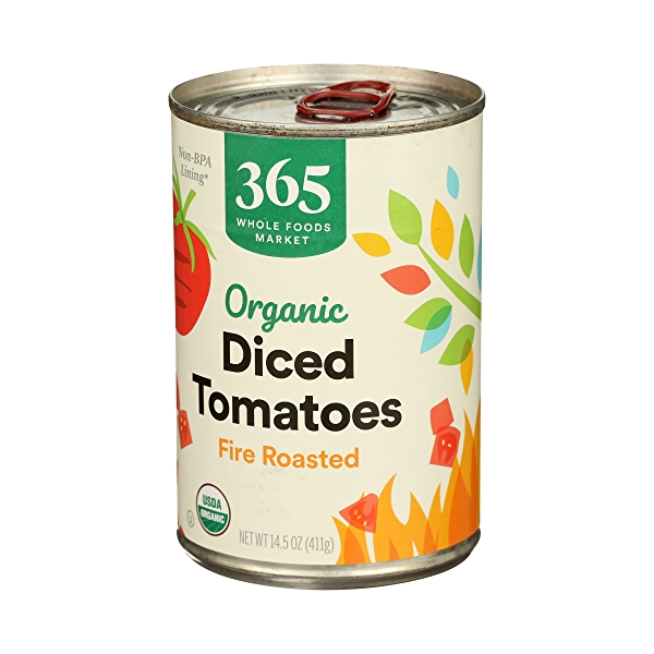 Organic Shelf-Stable Tomatoes Diced - Fire Roasted, 14.5 oz 4