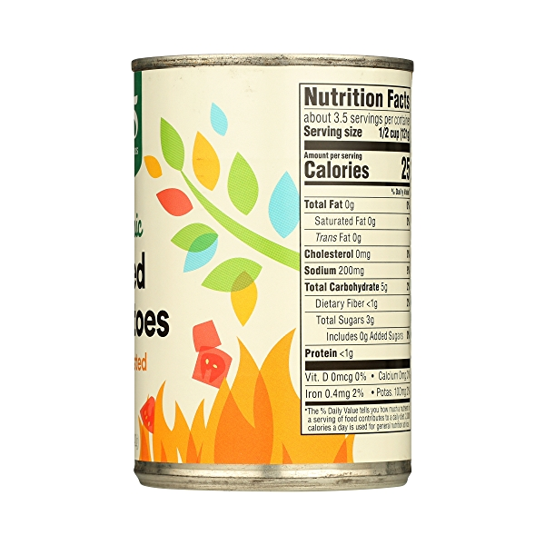 Organic Shelf-Stable Tomatoes Diced - Fire Roasted, 14.5 oz 8