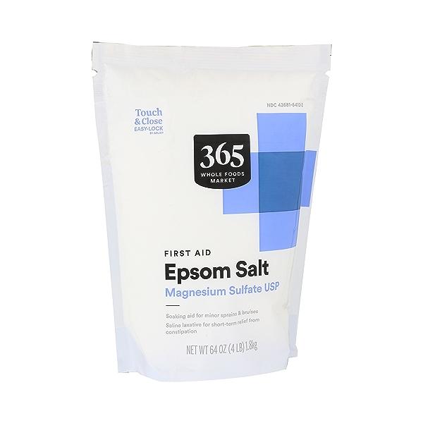Epsom Salt Magnesium Sulfate Usp (first Aid) 2