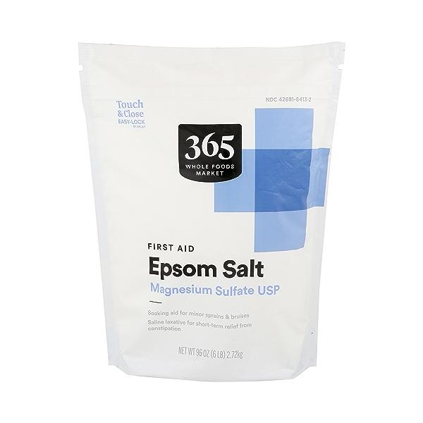 Epsom Salt Magnesium Sulfate Usp (first Aid) 1