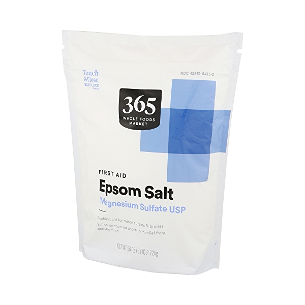 Epsom Salt Magnesium Sulfate Usp (first Aid) 3