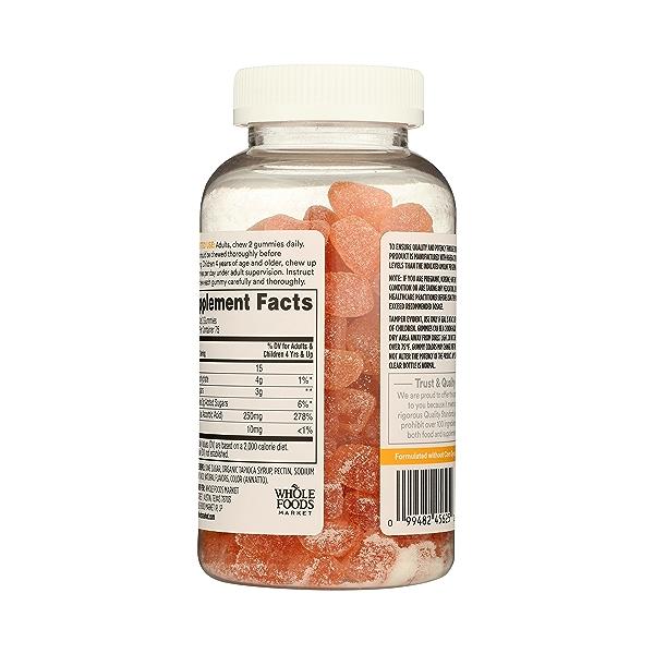 Supplements - Vitamins C (Gummies), 150 gummies 6
