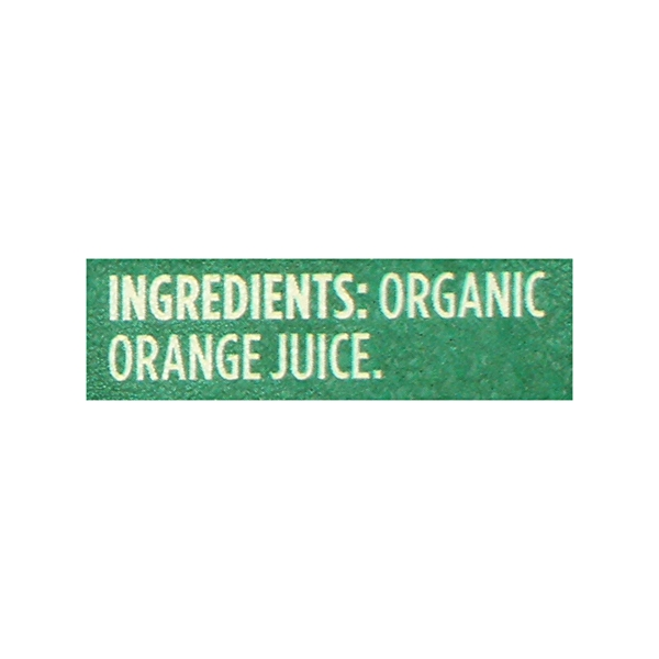 Organic 100% Orange Juice No Pulp (Not From Concentrate), 89 fl oz 7