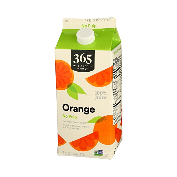 100% Orange Juice No Pulp (Not From Concentrate), 59 fl oz 3