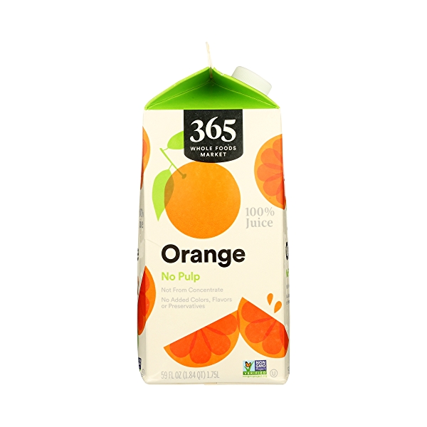 100% Orange Juice No Pulp (Not From Concentrate), 59 fl oz 4
