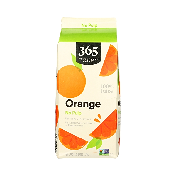 100% Orange Juice No Pulp (Not From Concentrate), 59 fl oz 6