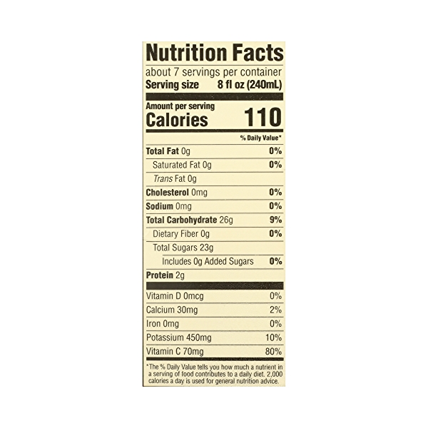 Organic 100% Orange Juice No Pulp (Not From Concentrate), 59 fl oz 8
