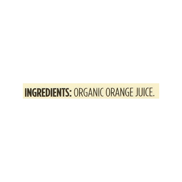 Organic 100% Orange Juice No Pulp (Not From Concentrate), 59 fl oz 9